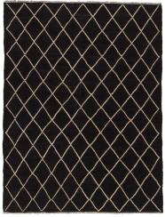 Kelim Tanger black 152x200