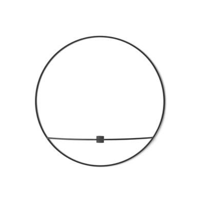 Pov Circle väggljusstake Stor