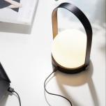 Carrie LED-lampa, svart och vit