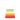Molly plastmatta Rainbow