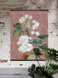 Appleblossom rose poster 50x70