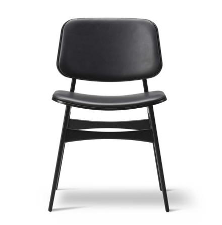 KAMPANJ Söborg stol 3052, stoppad sits och rygg