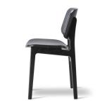 Söborg stol 3052, stoppad sits och rygg