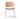 KAMPANJ Söborg stol 3061, stålben, stoppad sits