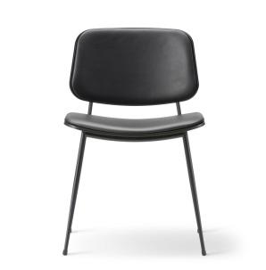 KAMPANJ Söborg stol 3062, stålben, stoppad sits och rygg