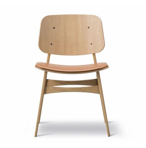 KAMPANJ Söborg stol 3051, stoppad sits