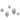 Dots knoppar - set om 5 st