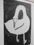 Swan poster 40x50 cm