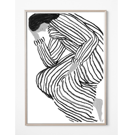 Bored poster 70x100 cm