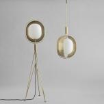 Pearl pendant, mässing