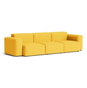 Mags soft 3-sitssoffa, lågt armstöd