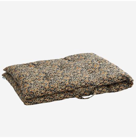 Madrass 70x180 sand, black, grey, mustard