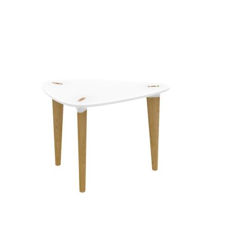 Buff njurformat bord mindre