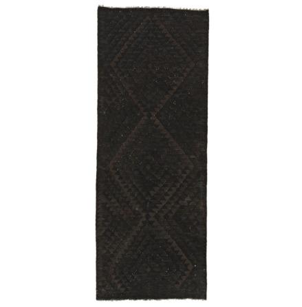 Kelim raw svart 93x245