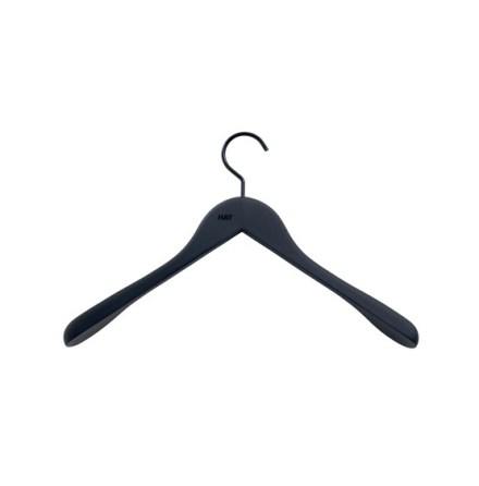 Soft Coat Hanger 4-pack svart