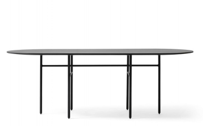 Snaregade bord, ovalt