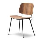 Söborg stol, stålben 3060